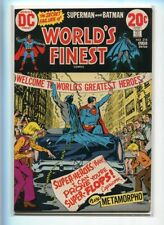 WORLDS FINEST #218 HI GRADE GREAT PARADE COVER METAMORPHO STORY