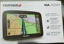 "TomTom Automobile Portable 5"" GPS Navigator With Lifetime US/CAN/MEX VIA 1525M"