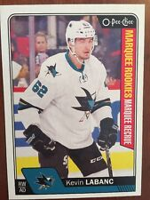 2016-17 UD Hockey Series 2 Opee Chee Marquee RC Kevin Labanc  #693