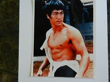 BRUCE LEE ACTOR & MARTIAL ARTIST VINTAGE 8x10 PHOTO Nice!!