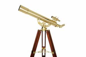 Celestron Ambassador 80 AZ Vintage Design Brass Telescope
