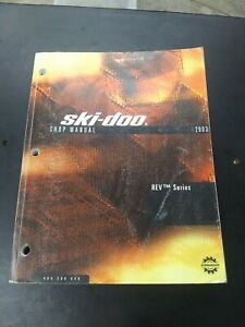 SKI-DOO SHOP MANUAL 2003 REV Series 484200046 NS108