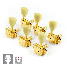 NEW Gotoh SD90-SL MG MAGNUM LOCKING Tuners L3+R3 Set KEYSTONE 3x3 - GOLD