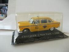 Checker Marathon Taxi New York 1956-1982 1/43 1980 Altaya Neuf Blister TDM-02