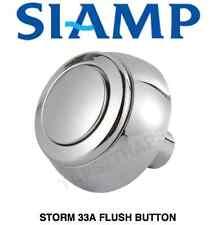 Siamp Tempête 33A Toilette Bouton Poussoir Chasse économie d'eau effet chromé