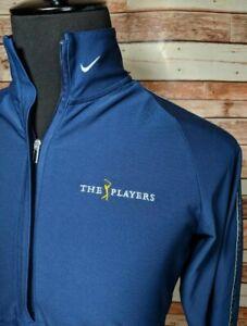 Womens Nike Dri Fit TPC Players Championship Logo Golf Pullover Size Medium