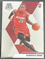 Kendrick Nunn RC 2019-20 MOSAIC Base Rookie Card #234 Miami Heat Basketball ????