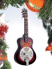 "Miniature 5"" Resonator Guitar Hanging Tree Ornament OG12SR"