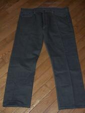 """LEVI'S 501 BUTTON FLY STRAIGHT DENIM JEANS W 42""""  L 32""""  OLIVE GREEN MSRP $68.00"""