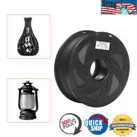 3D Printer Carbon Fiber PLA Printing Filament 1.75mm 1kg(2.2lbs) Spool DIY US
