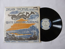 DYLAN THOMAS ~ READING QUITE EARLY ONE MORNING ~ TC 1132 ~ EX+/EX- ~ 1960 US LP