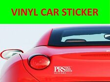 STICKER CAR VINYL P R S GUITARS VISIT OUR STORE WITH MANY MORE MODELS CUSTOMIZED