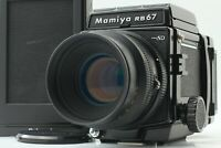 【NEAR MINT+++】 Mamiya RB67 Pro SD KL 127mm f/3.5 L Lens 120 Film Back JAPAN