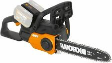 WORX Cordless Chainsaw-Bare Unit WG381E.9 40V Max Dual Port Battery Charging