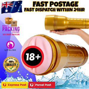 Fleshlight Male Masturbator Stroker Pocket Pussy Masturbation Cup Adult Sex Toy