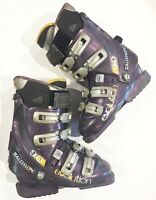 Salomon 9.0 Evolution Women's Ski Boots size mondo 23.5 Purple 272mm