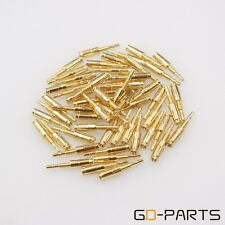 Gold Plated Brass Pin Feet For Tube Socket KT88 EL34 6550 GZ34 274B Nixie VFDx10