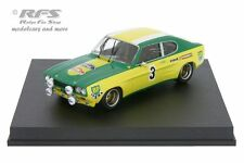 Ford Capri 2600 RS - Rallye Lyon Charbonnieres 1972 Piot Vial - 1:43 Trofeu 2318