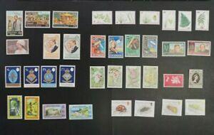 ASCENSION ISLAND Stamps lot 11 SETs VF MNH