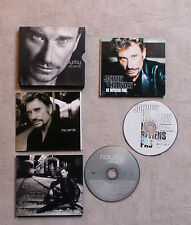 "CD AUDIO FR/ LOT DE 2 CD DIGIPACK JOHNNY HALLYDAY ""NE REVIENS PAS / MA VÉRITÉ"""