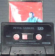 Peter Gabriel Us CASSETTE ALBUM Real World Records PGMC 7 Downtempo Art Rock