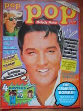POP 11 - 1979 (1) Elvis BCR Genesis Blondie Chris. Reeve Village People Smokie