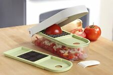 NEW Vidalia Chop Wizard Food Vegetable Fruit Dicer Chopper Slicer Kitchen Discs