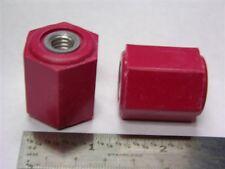 """100 Gund standoff insulator 2165-1A series 1.125/"""" hex x 1.00/"""" 600V 1//4 thread"""