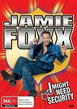 Jamie Foxx - I Might Need Security (DVD, 2013) BRAND NEW comedian R4