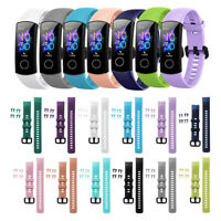 Wristbands Watch Band Silicone For Huawei Honor Band 5 4 Replacement Strap