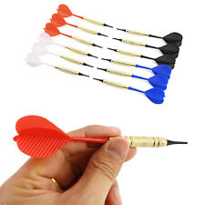 12 pcs Soft Plastic Needle Tip Dart Darts With Nice Flight Flights + 100pcs Tips