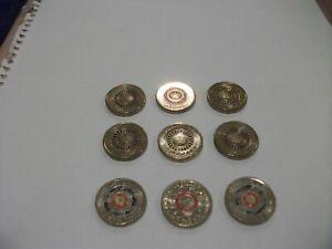 6 x 2013 $2 purple coronation coins, 2 x eternal flame, 1 x 2016 Olympic team