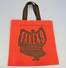 Vtg. FANEX 9 HORROR &FILM SOCIETY 1995 Baltimore Convention CANVAS LOOT BAG Tote