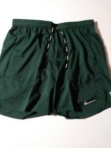 "Size Medium Nike Flex Stride Mens 7"" 2-in-1 Running Shorts Pro Green CJ5471-397"