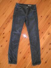 "Womens STRETCH JEANSWEST JEANS SIZE 8 ""TUMMY TRIMMER, HIGH RISE, SLIM"""