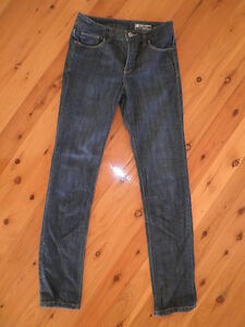 """Womens STRETCH JEANSWEST JEANS SIZE 8 """"TUMMY TRIMMER, HIGH RISE, SLIM"""""""