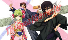 Code Geass C.C., Lelouch, and Suzaku Fortune Telling Custom Playmat #323024
