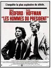 LES HOMMES DU PRESIDENT affiche originale française 60 x 80 Robert REDFORD
