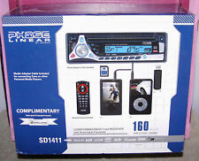 PHASE LINEAR BY JENSEN~CAR CD~MP3 PLAYER~USB~SD RECEIVE