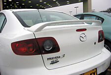 Fits The Mazda 3  2004-09  4 Door Factory Style UCI Primed Spoiler