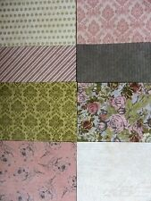 "8 x A Beautiful Life Trimcraft 6""x6"" Papers For Cardmaking & Scrapbooking"