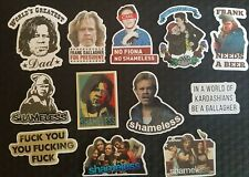 Shameless Stickers 12 PCE Cult TV Show Skate Laptop PC Car Decal