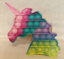 Pop Bubble - Pop It - Poppet Bubble - Licorne Arc En Ciel  - Livraison gratuite