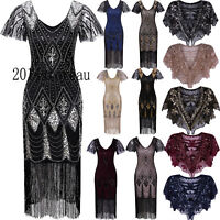 1920s Dress Vintage Gatsby Flapper Costumes Party Cocktail Evening Gowns Dresses