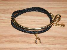 / Costume Jewelry Bracelet *Read* Double Wrap Wish Bone Fashion