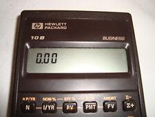 Vintage Hewlett Packard B10 Business Calculator