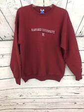 Vintage Champion Harvard University Crimson Size L Crewneck Classic Sweatshirt