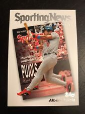 2004 Topps #723 ALBERT PUJOLS St. Louis Cardinals ALL STAR Awesome LOOK!