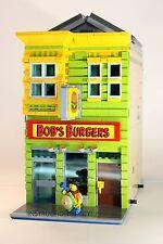 LEGO Custom Modular Building- Bob's Burgers -INSTRUCTIONS ONLY
