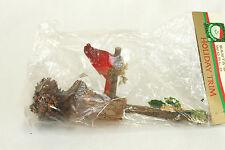 Vintage Rustic Red Bird Birdhouse Christmas Ornament Holiday Tree Decoration 7x3